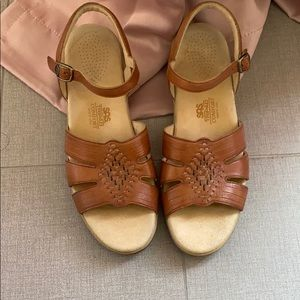 SAS huarache sandal tripad leather comfort 10 boho